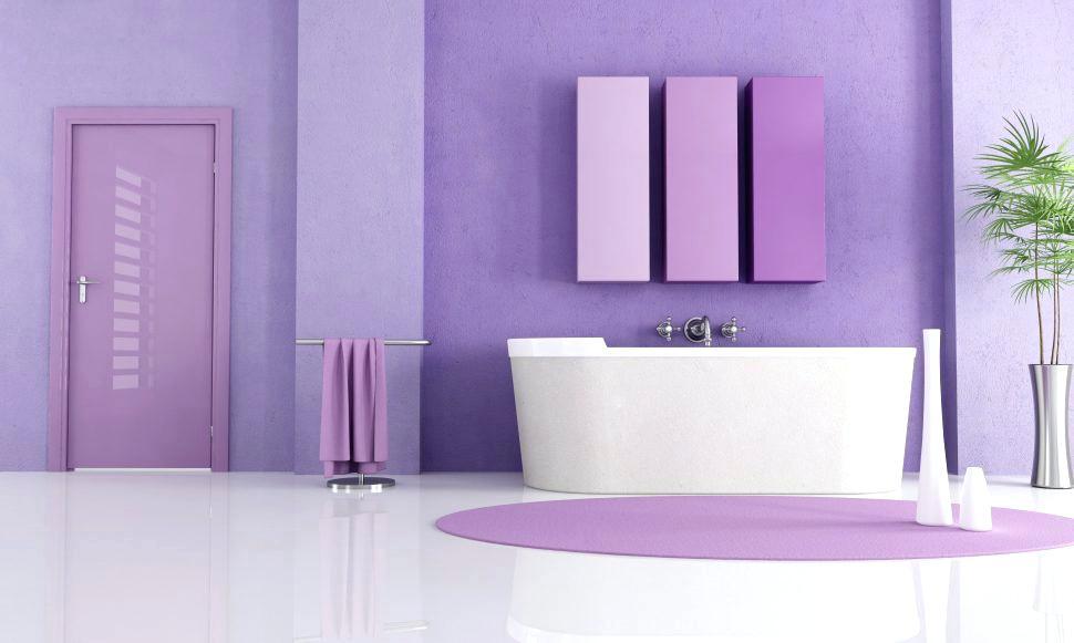 Warna Cat Dalam Rumah Lavender