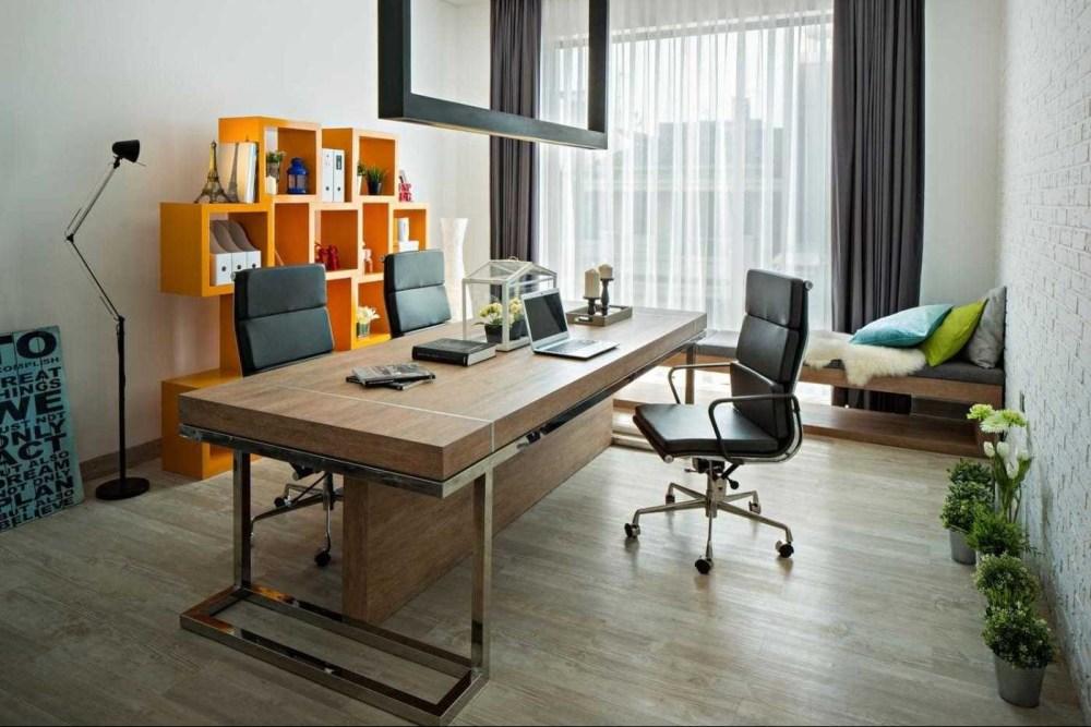Contoh Denah Rumah Kantor  6 ide ruangan kerja minimalis bikin kerja lebih fokus