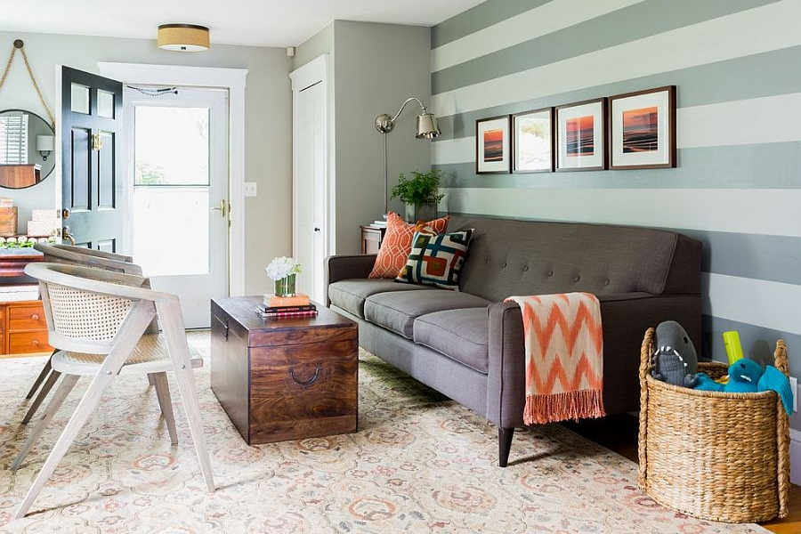Kombinasi Warna Cat Rumah Kuning  7 kombinasi warna cat ruang tamu ini buat suasana lebih dinamis