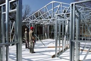 7 kelebihan rangka atap baja ringan, rangka atap masa kini