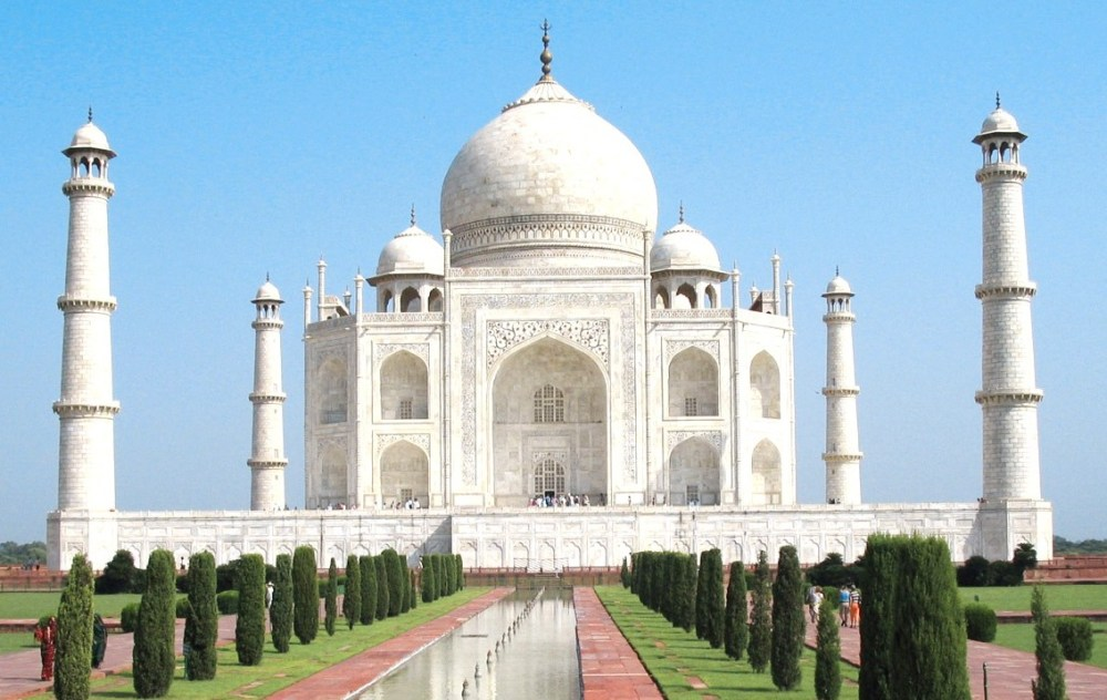 Arsitektur Islam Taj Mahal di India
