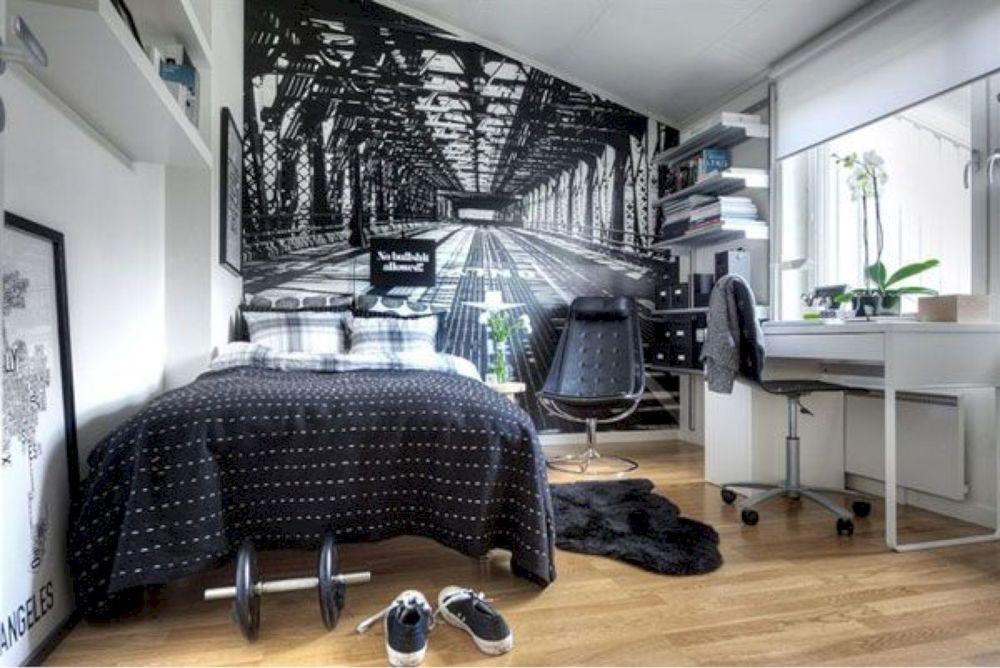 Wall decor untuk kamar idaman cowok