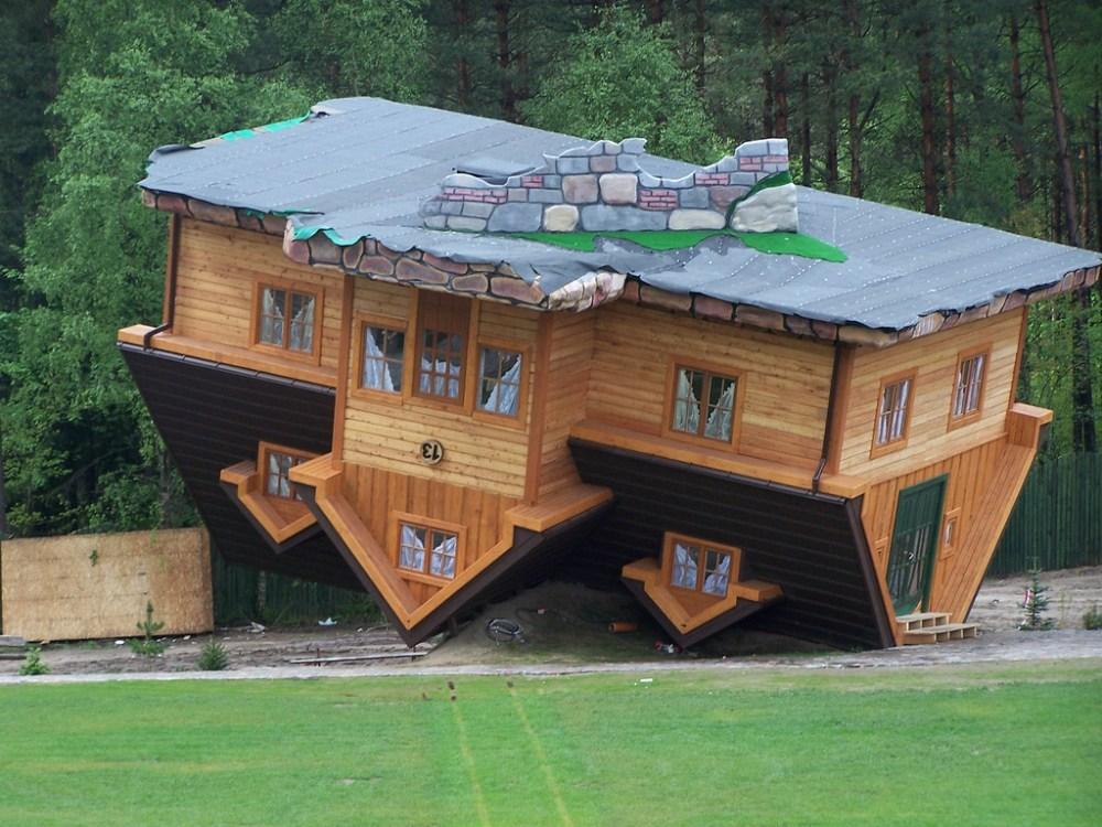 5 Bentuk Rumah Minimalis Paling Unik Yang Pernah Dibangun!
