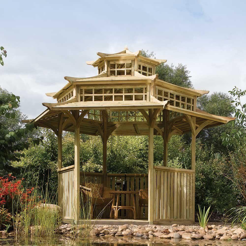 Gazebo Taman Oriental