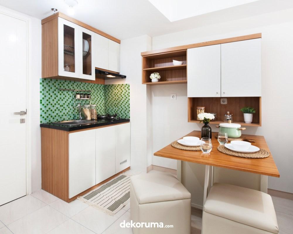 Ruang Makan Proyek Apartemen Springlake Dekoruma