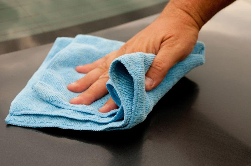 Tungau Debu Bersihkan Rumah dengan Kain Basah