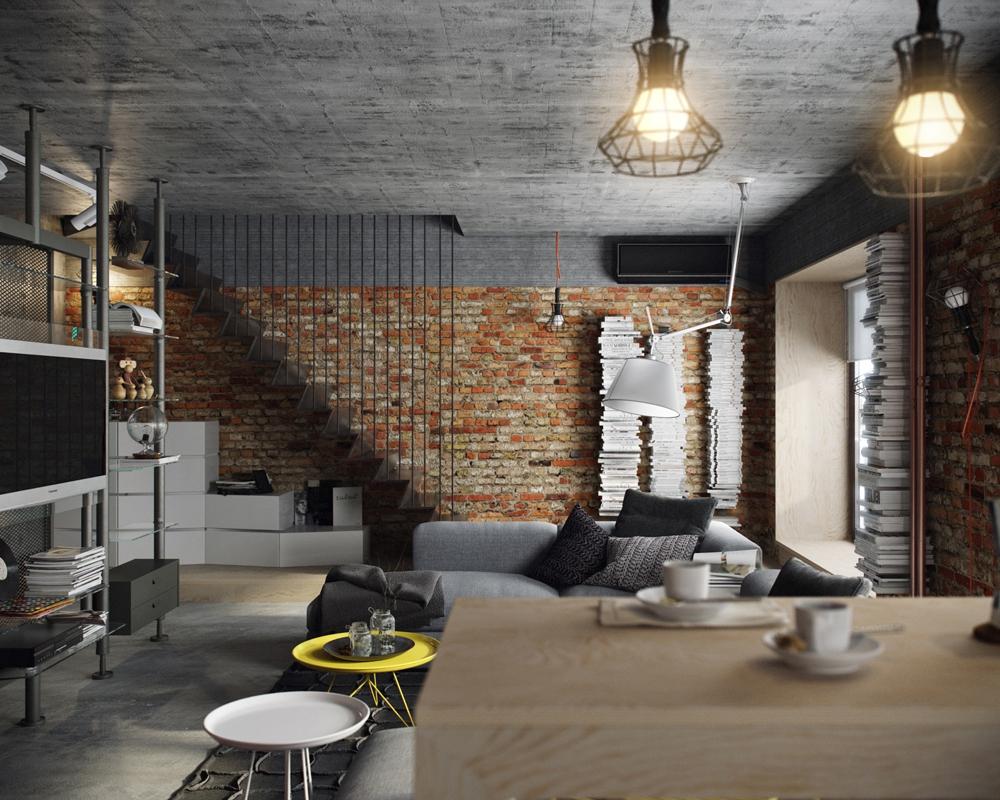 Dinding Bata dan Pencahayaan Prima untuk Hangatkan Ruangan