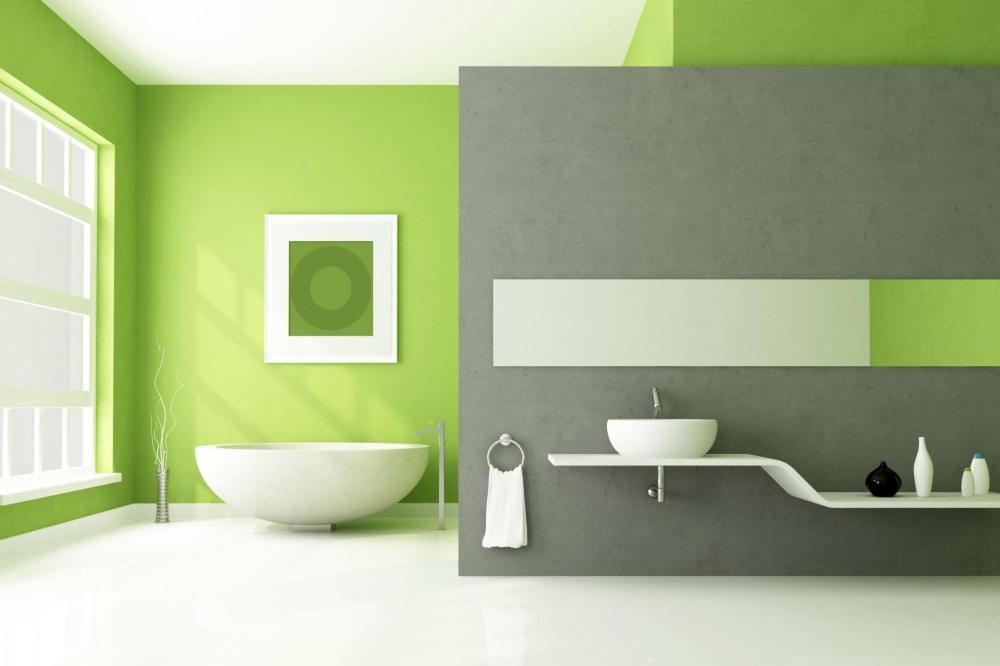 Permainan Warna Design Interior Rumah Minimalis