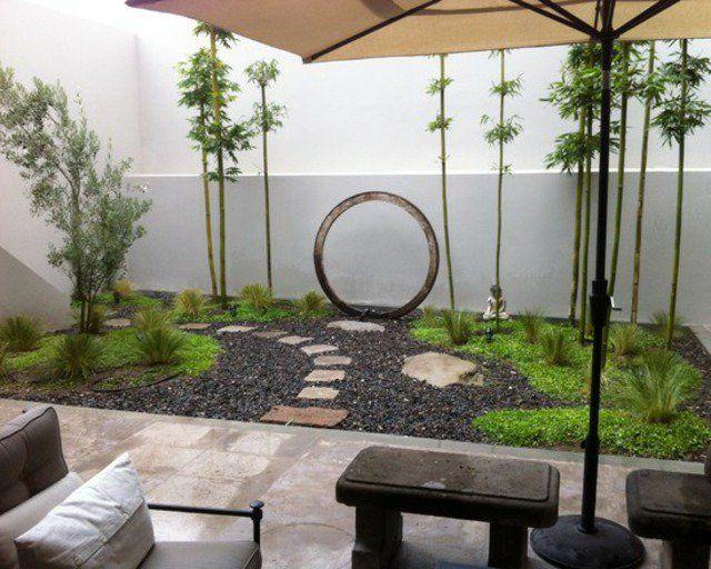 Gaya Oriental Di Taman Halaman Rumah