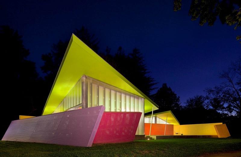 Paduan Warna Cat Rumah Neon