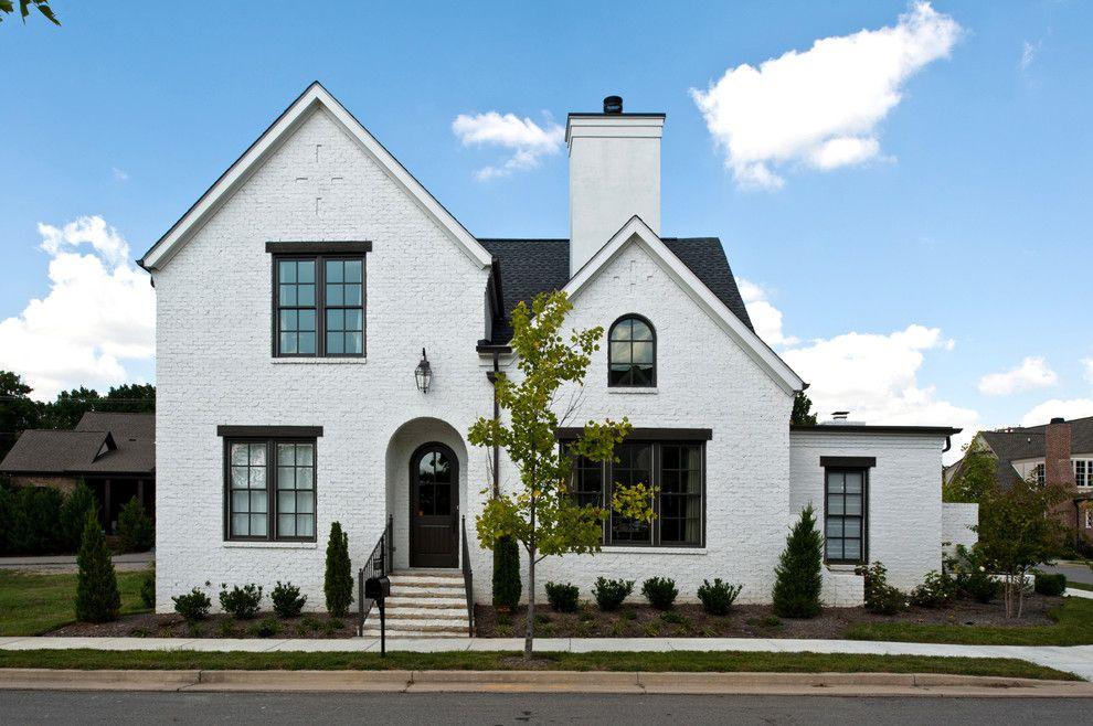 Warna Cat Depan Rumah Hitam Putih