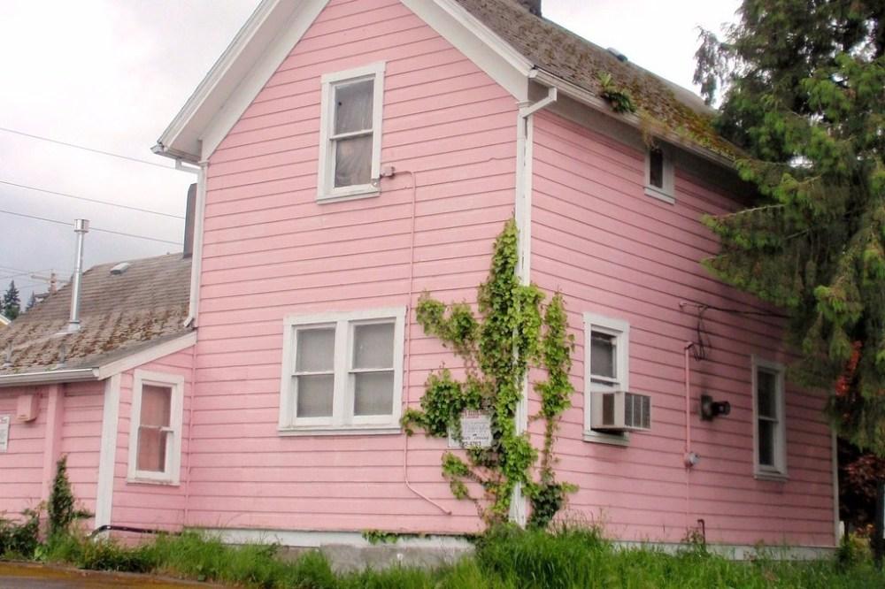 72 Gambar Rumah Sederhana Warna Pink Terbaik