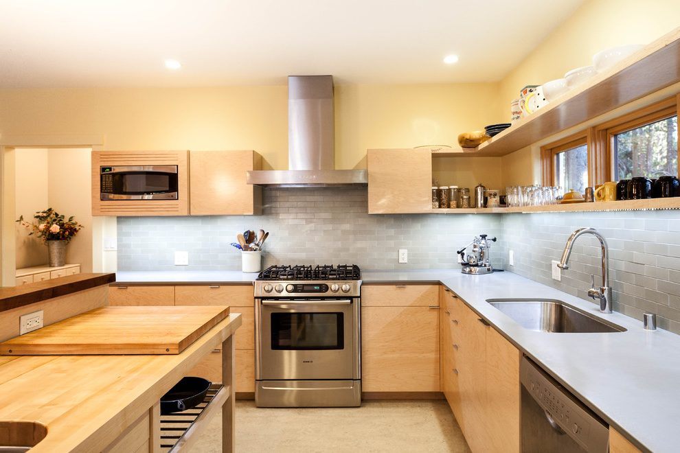 Kitchen set kayu multipleks