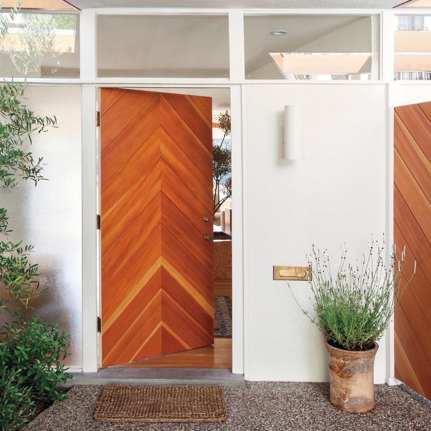 Kusen Pintu Minimalis Warna Putih