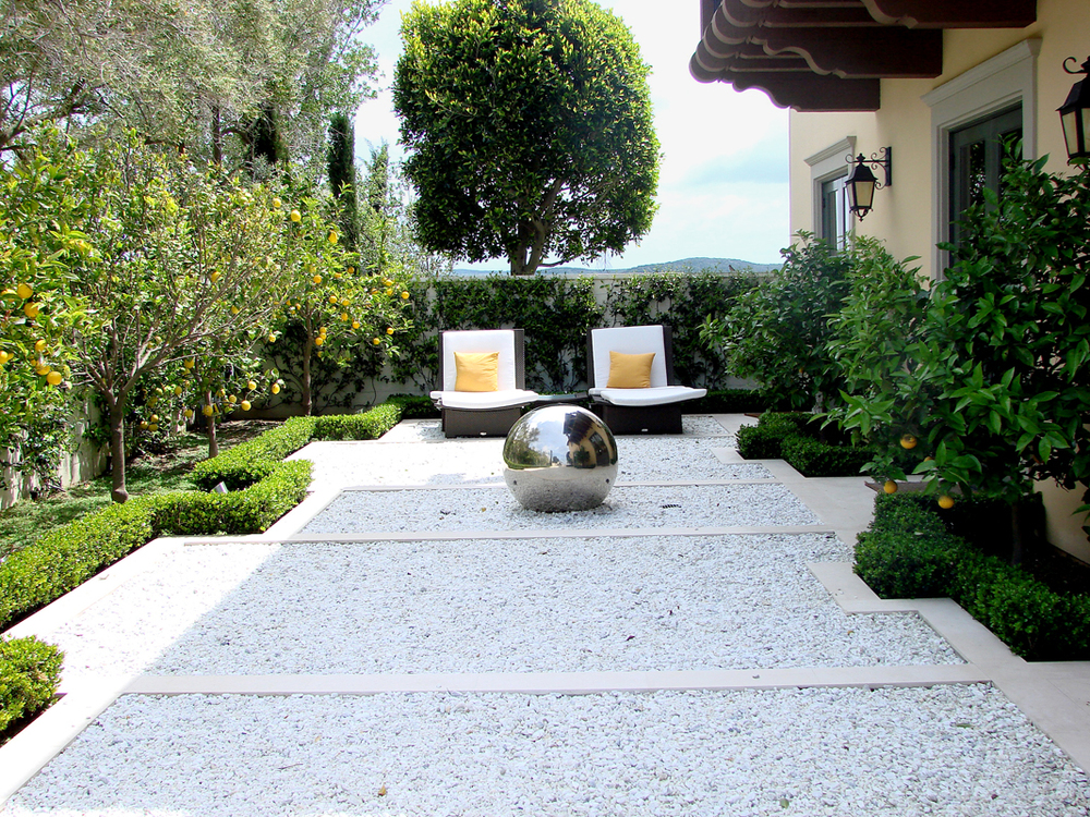 Landscape taman minimalis modern