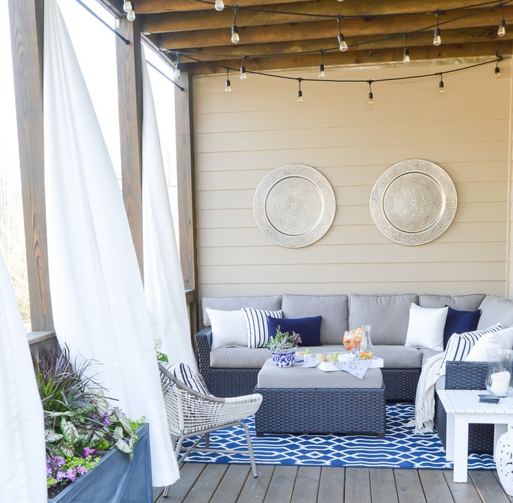 Inspirasi desain teras rumah cantik ala tumblr