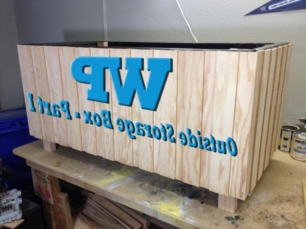 Marvelous Lifetime 130 Gal Polyethylene Outdoor Deck Box