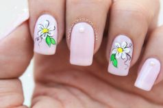 Video uñas flor facil