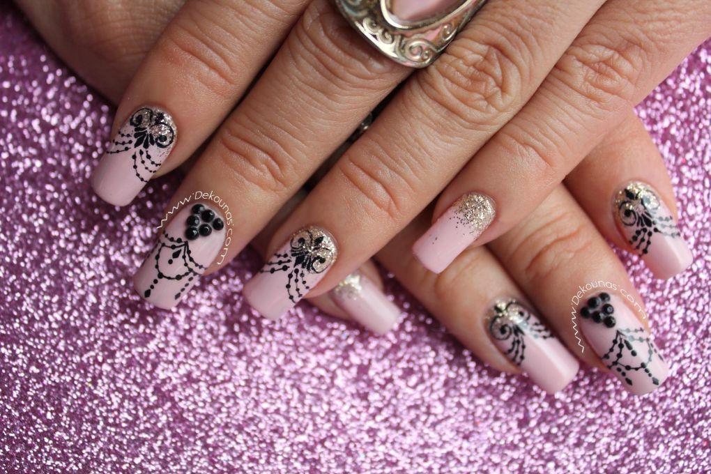 Decoración de uñas Glamour5
