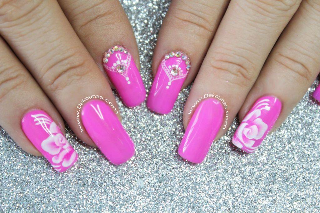 Decoracion de uñas temp flores2