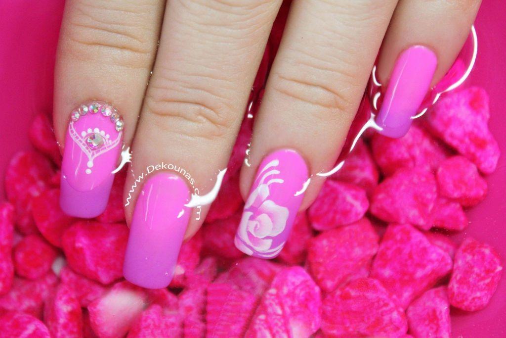 Decoracion de uñas temp flores4