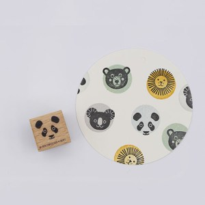 Perlenfischer stempel dierenkop panda | De Kroonluchter