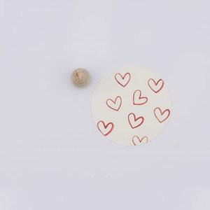 Perlenfischer stempel hartjes outline | De Kroonluchter