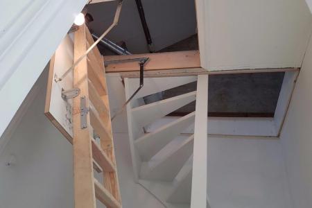 Vaste trap plaatsen naar zolder prijs for Vlizotrap plaatsen