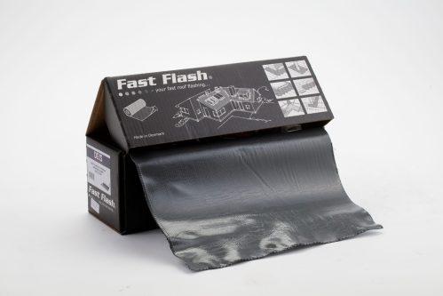 Fully adhesive flashing roll 5m x 280mm - Dark Grey