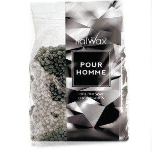 Воск горячий в гранулах ItalWax Pour Home для мужчин 1 кг