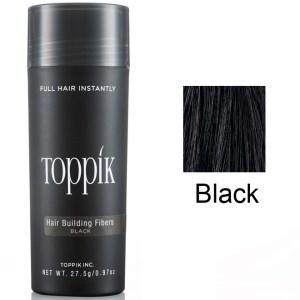 Toppik Загуститель волос (пудра для волос) Черный Black 27,5 г