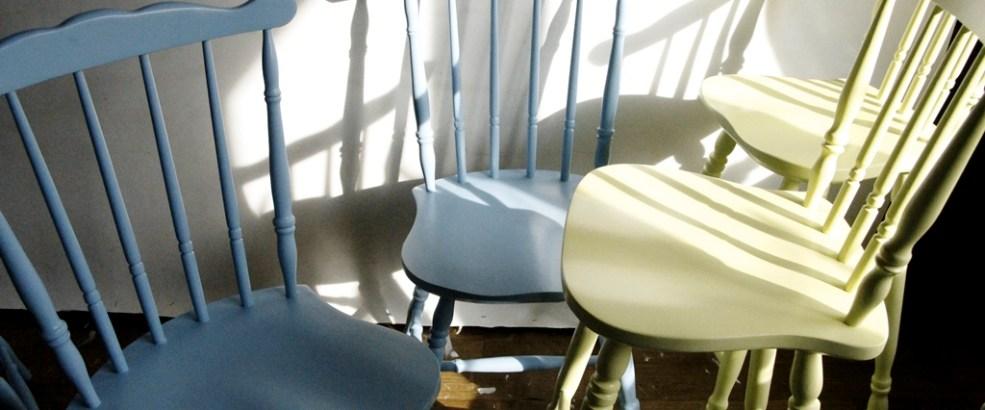 krzesło odnawianie mebli