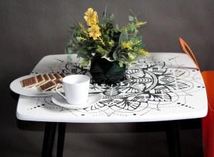 stolik kawowy PRL
