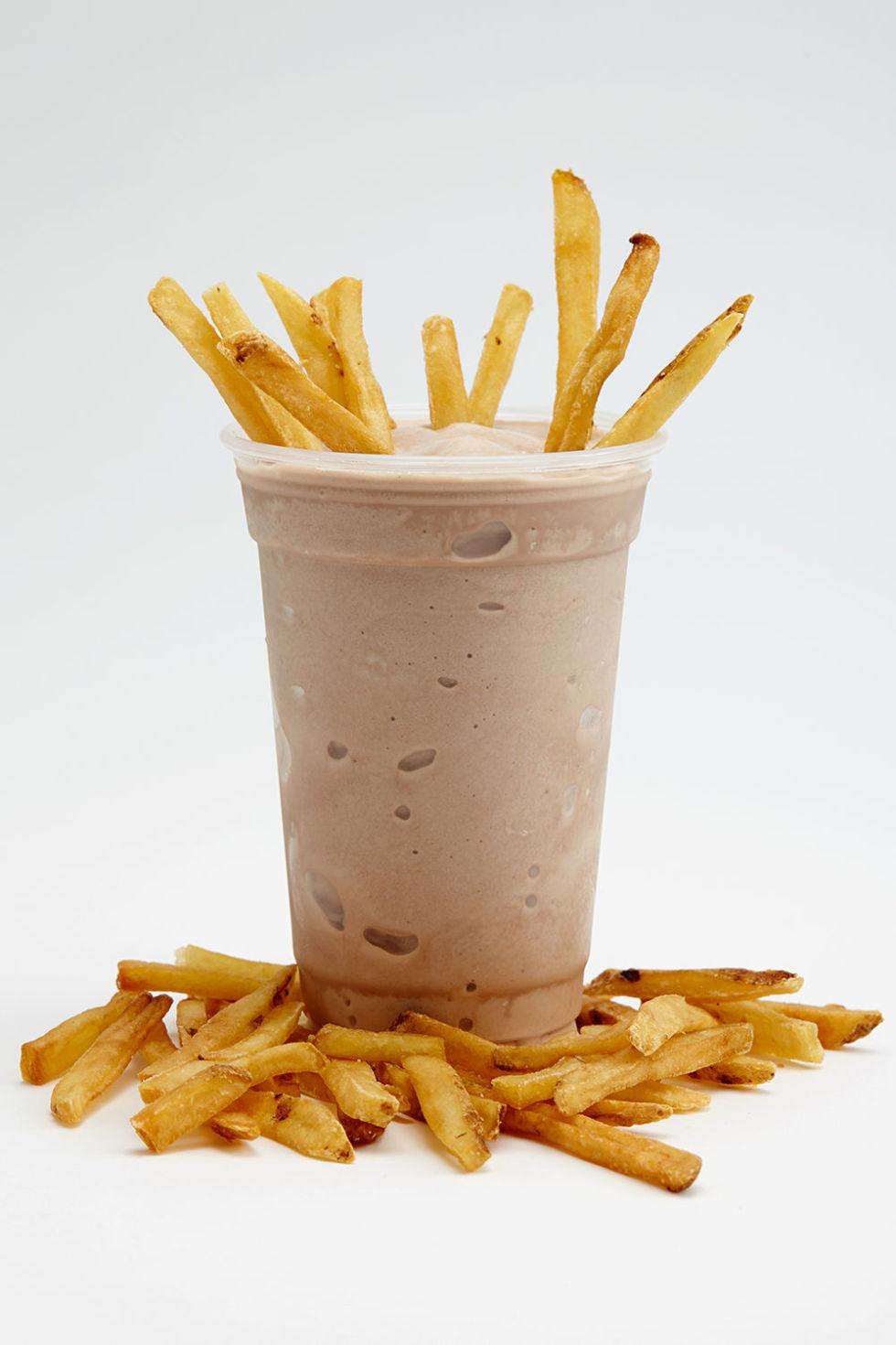 Afbeeldingsresultaat voor milkshake and fries