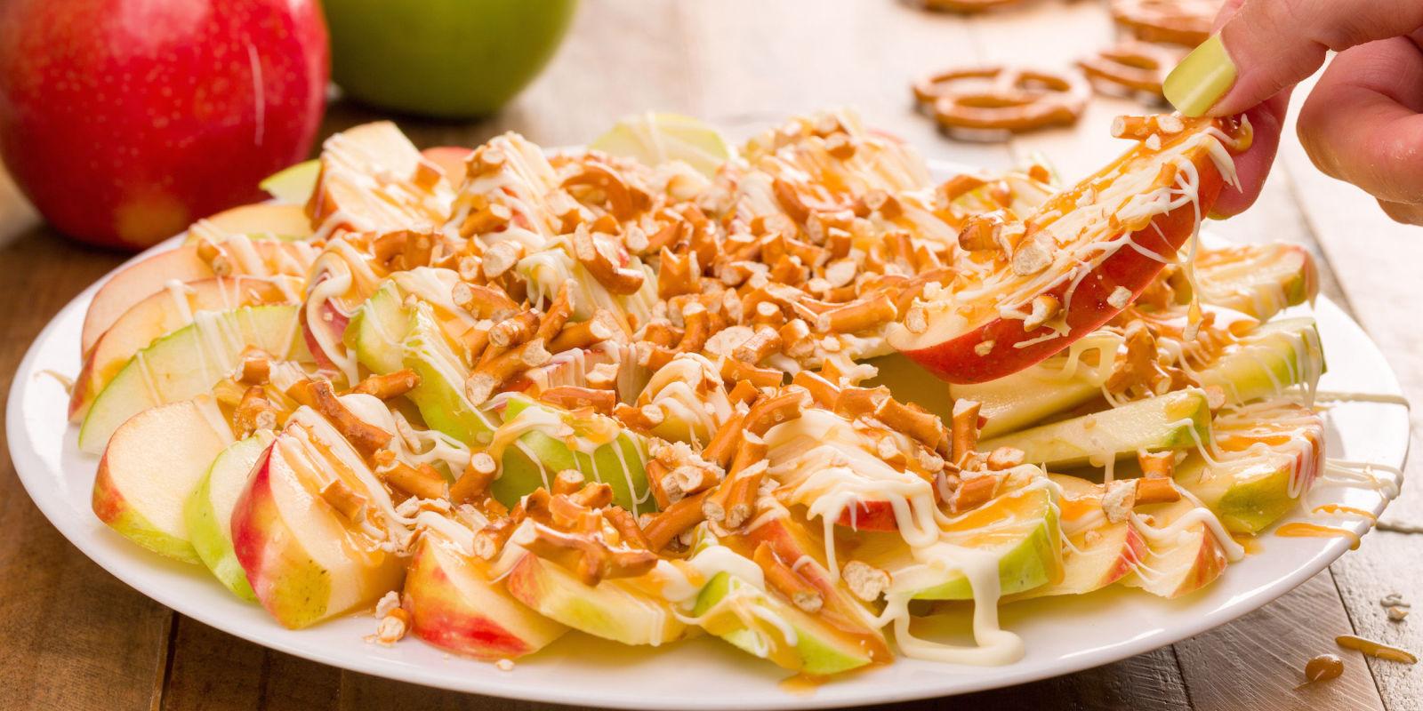 Image result for delish apple nachos