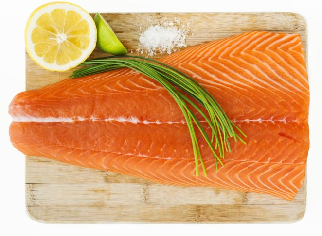 """""""A major nutritional deficiency of people with depression is in omega-3 fats, which help decrease inflammation and improve mood regulation,"""" says Taz Bhatia, MD, integrative health expert at the Atlanta Center for Holistic and Integrative Medicine.   In a May 2014 study in the American Journal of Epidemiology, researchers found those who ate fish two or more times per week had a 25 percent lower chance of developing depression.  """"We think omega-3 fatty acids found in fish such as fresh salmon, tuna and sardines might be what are protecting women against depression,"""" says study co-author Kylie Smith, post-doctoral research fellow at the University of Tasmania in Australia. """"It's been suggested that the omega-3s may change the composition of cell membranes or the function of their proteins."""""""