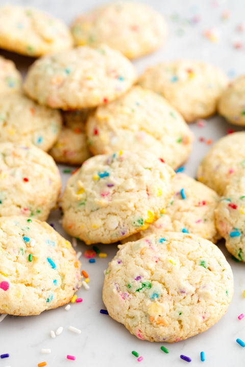 Have your cake and Funfetti cookies, too! Get the recipe from Delish.