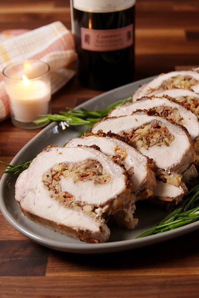 Best Stuffed Pork Loin Recipe - How to Make Stuffed Pork Loin