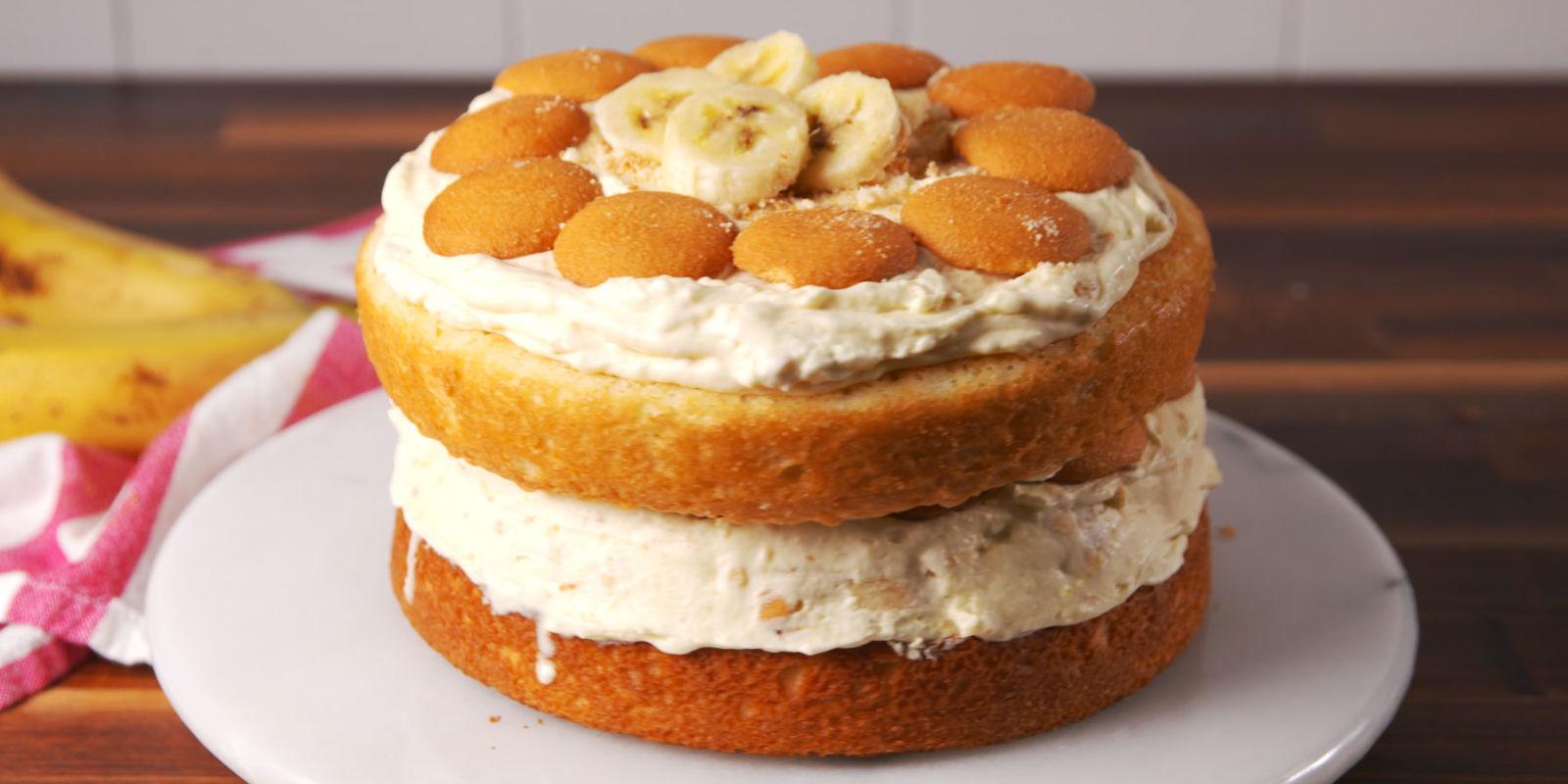 The Best Banana Pudding Ice Cream Cake Recipe How To Make Banana Pudding Ice Cream Cake
