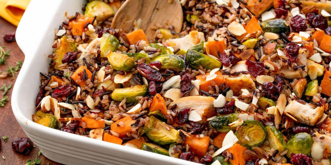 Best Healthy Chicken Casserole Recipe - How to Make ...
