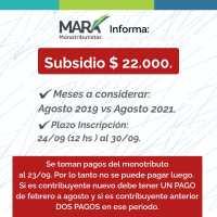 Claves para acceder al subsidio para monotributistas