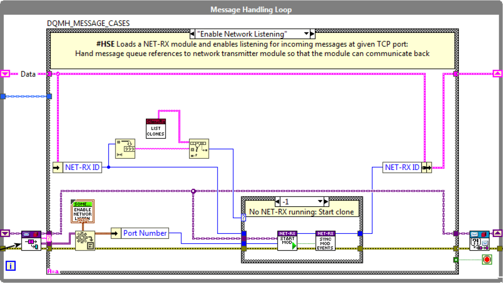 DQMH Generic Networking: Load NET-TR module