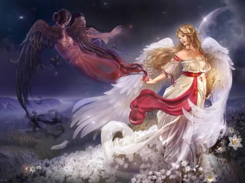 Ангелы - Ангелы и Демоны - Фантастика и Фэнтези - Обои для ...