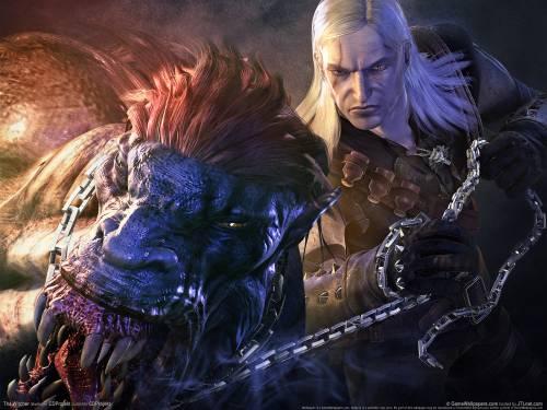 Геральд и стрыга - The Witcher - Игры - Обои для рабочего ...