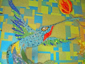 Hummingbird With Torch 02