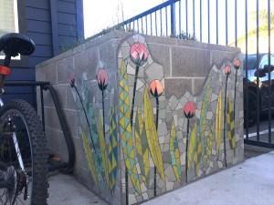 Mosaic Garden Apts Planters 05