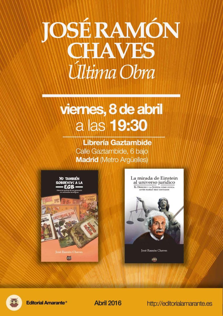 Amarante - José Ramón Chaves - 8 abril 2016