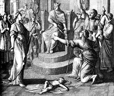 Juicio ante el Rey Salomon