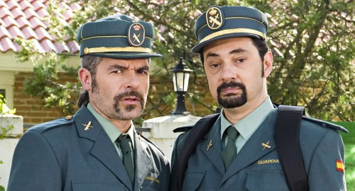 Dos guardias civiles sorprendidos por el caso