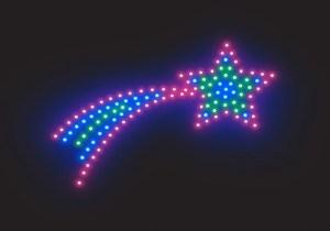 estrella luminosa